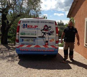 recherche de fuite à Châteauneuf-Grasse